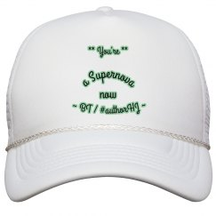 "Solid Tribute Hat - ""Bette"" (H.J)"