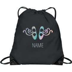 Pointe Shoes Custom Drawstring