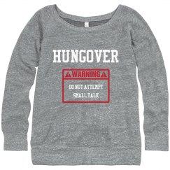 Hungover Warning