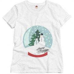 Snowglobe maternity Shirt