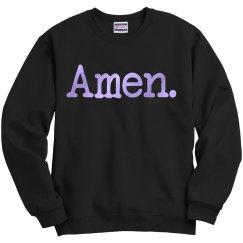 AMEN UNISEX Sweatshirt