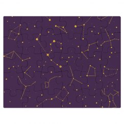 Cute Constellations All Over Puzzle