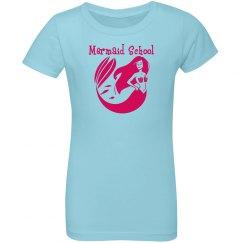 Mermaid School Youth Tee