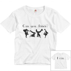 Can You Dance Youth Tee