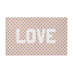 Cute Love Polka Dots Pattern