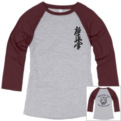 Ladies Relaxed Raglan with Kanji and Logo