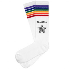 Alliance Rainbow Socks