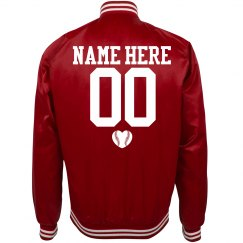 Custom Baseball Fan Bomber