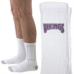 Vikings socks