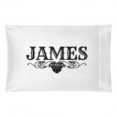 JAMES.Pillow case