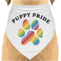 Puppy Rainbow Pride