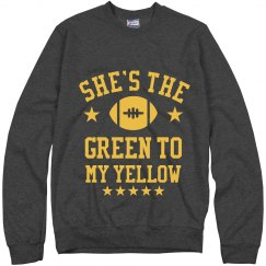 Green To My Yellow Sweater