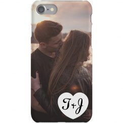 Custom Upload Initials Phone Case