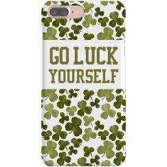 Go Luck Yourself Shamrock Case