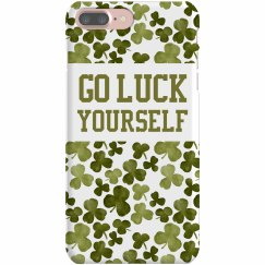 Go Luck Yourself Shamrock Case