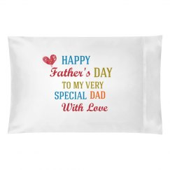 Happy Father's Day Pillow