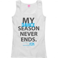 My Dance Season Never Ends - Adult Tank Top