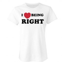 I Heart Being Right