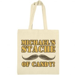 Michael's Stache Of Candy
