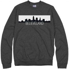 Believeland Skyline Crewneck