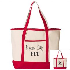 Large Tote Canvas Deluxe