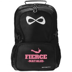 Fierce Cheer Fan Nfinity Backpack With Custom Name