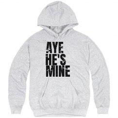 Aye He's Mine Distressed