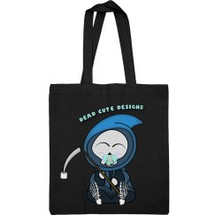 Dead cute canvas bag