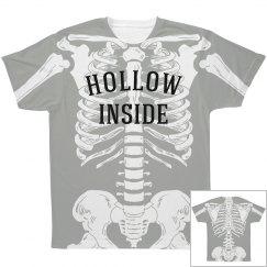 Skeleton Hollow Inside All Over