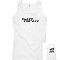 Cheer Captain tank