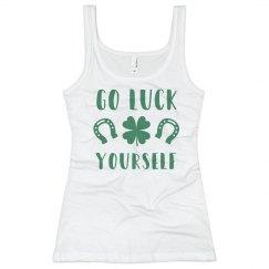 Green Irish Go Luck Yourself