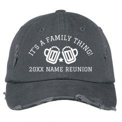 Fourth of July Family Reunion Custom