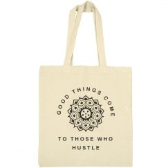 Mandala Hustle Quote Girl Gift