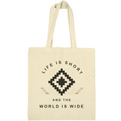 Life Is Short Travel Quote Gift
