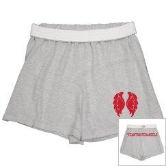 #TeamTwistedAngels Slim Fit Cheer Shorts