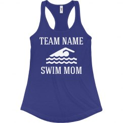 Custom Swim Team Mom