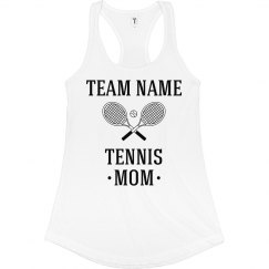 Custom Tennis Team Mom