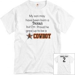 My son Cowboy w/back