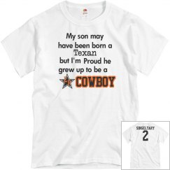 My son Cowboy w/back