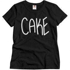 CAKE Womens T-shirt