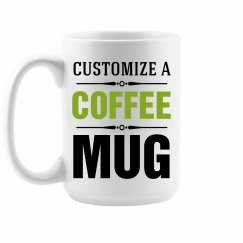 Custom Tall Coffee Mug