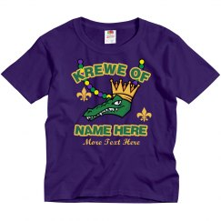 Krewe of Custom Name Kids