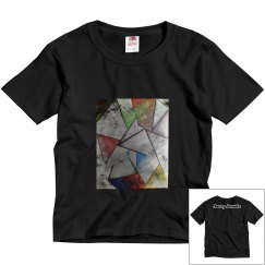 AbstractEnergy Youth Tee-Jazzy Art