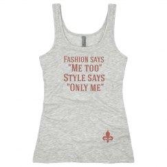 Fashion Says Tank