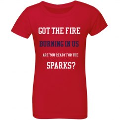 Got The Fire Burning In Us Tee