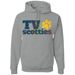 TV Glitter Hoodie #1
