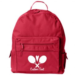 Customizable Tennis Logo Sport Backpack