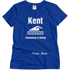 Kent Swimming Team Mom