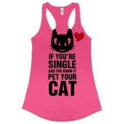 Pet Your Neon Cat