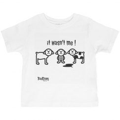 boys t-shirt baddawg wasnt me